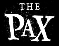 The Pax Logo Band Grunge