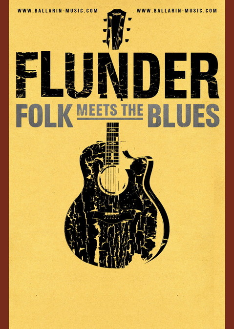 Flunder Musik Folk Music designed by Dirk Ballarin
