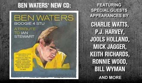 Ben Waters Boogie 4 Stu Album Mick Jagger Keith Richards Charlie Watts