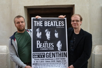 Friedhelm Wende Vivavox und Dirk Ballarin Music The Beatles Connection