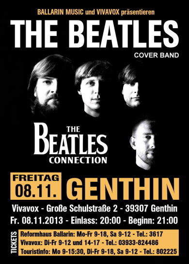 The Beatles Connection - live im Vivavox in Genthin am 08.11.2013