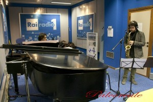 Alberto Pizzo Demo at Rai Radio 1 Rome