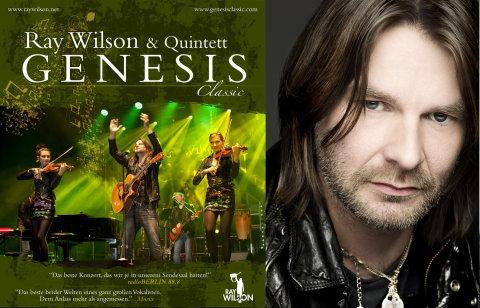 Dirk Ballarin Music päsentiert Ray Wilson Genesis Classic