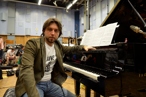 Alberto Pizzo in Abbey Road Studio One (Foto: Dirk Ballarin)