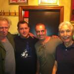 Keith Richards, Ben Waters, Charlie Watts
