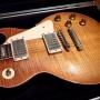 Dirk Ballarin fotografiert die Gibson Les Paul vom ehemaligen Gitarristen der Rolling Stones Mick Taylor
