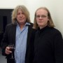 Dirk Ballarin und der ehemalige Gitarrist der Rolling Stones Mick Taylor